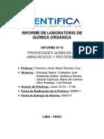 INFORME DE ORGANICA - 10