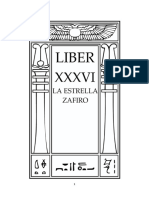 Aleister Crowley - Liber 36 - Liber XXXVI - La Estrella Zafiro