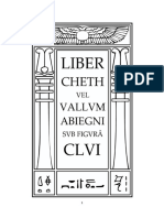 Aleister Crowley - Liber 156 - Liber CLVI - Liber Cheth vel Vallvm Abiegni