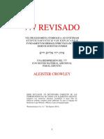 Aleister Crowley - Liber 777 Revisado