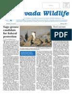 2010 Spring Nevada Wildlife Newsletter