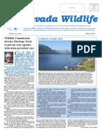 2010 Winter Nevada Wildlife Newsletter