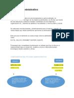 Proceso administrativo trabajo