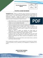 PLT-SST-006 Política de Lavado de Manos.docx