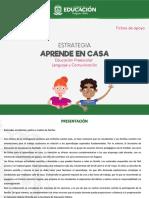 Cuadernillo Preescolar LyC