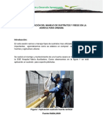 3 SESIÓN  PLANEACIÓN DEL MANEJO DE SUSTRATOS Y RIEGO EN LA AGRICULTURA URBANA