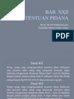 HUKUM PENERBANGAN BAB  XXII 17010136.pptx