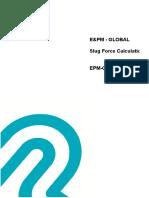 EPM-GL-PI-CLC-0004_Rev 0_Slug Flow Force Calculation