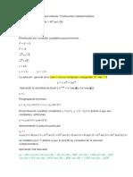 Problema 27 Coeficientes Indeterminados