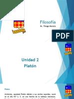 Filosofía 10G - Unidad 2 - Platón