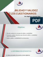 CONFIABILIDAD Y VALIDEZ.ORZA [Autoguardado].pptx