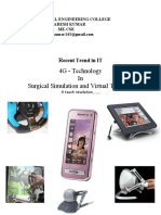 4g technology in surgical simulation and virtual training