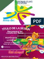 Ed. Fisica s5 - Sesion 1