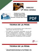 TEORIAS DE LA PENA
