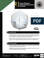 Respirador Descartable N95 M9910V Ficha Técnica.pdf