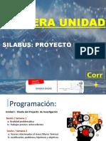 SILABUS  PARA TALLER DE TESIS