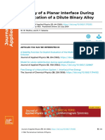Stability of a Planar Interface During Solidification of a Dilute Binary Alloy.pdf