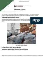 Construction of Stone Masonry Footing.pdf