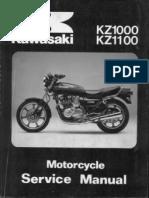 Kawasaki Ex 250 Gpx 250 88 Service Manual Supl 410 Views
