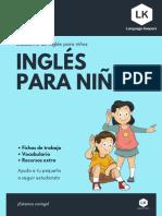 CUADERNO DE INGLÉS PARA NIÑOS