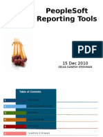 People Soft Reporting Tools Presentation