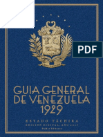 Guía del Táchira 1929 Pumar Editores