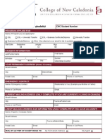 College of New Caledonia Application Form