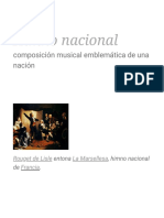 Himno nacional - Wikipedia, la enciclopedia libre