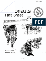 Astronauts Fact Sheet