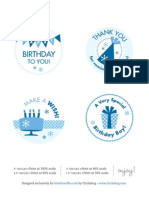 Birthday Boy or Girl Printables