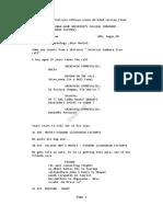 Agent Sai Srinivasa Athreya Script