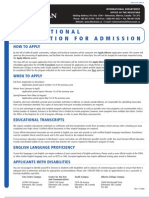 Grant MacEwan University Application Form