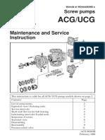 Screw pumps ACG-UCG