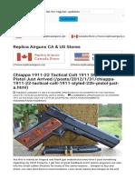 Replica Airguns Blog   Airsoft  Pellet  & BB Gun Reviews