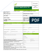 University of the Fraser Valley Application Form