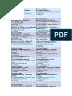 List of Counsulates in Karachi