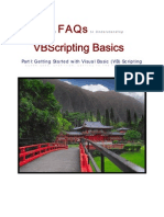 Just the FAQs to VB Scripting Basics