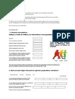 questionnaire personnalisé.docx