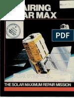 Repairing Solar Max the Solar Maximum Repair Mission