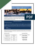 Online International Conference on Science, Technology, Engineering & Management (ICSTEM)