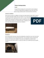 Advantages of energy efficiency in heritage building