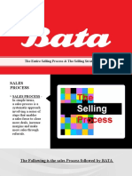 THE ENTIRE SELLING PROCESS & THE SELLING STRATEGY OF BATA