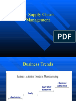 E- supply chain management-