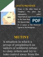 CAVITE MUTINY [Repaired]