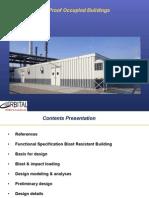 Blast Resistant Buildings