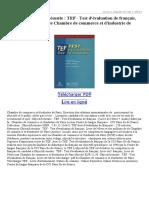 Objectif-réussite-TEF-Test-dévaluation-de-français-Livre-de-lélève