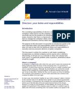 Directors - Your Duties and Responsibilities.pdf