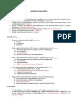 Q&A - Dissolution of  Partnership (1)
