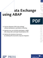 XML Data Exchange Using Abap