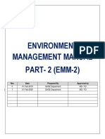 ENVIRONMENT management manual 2
